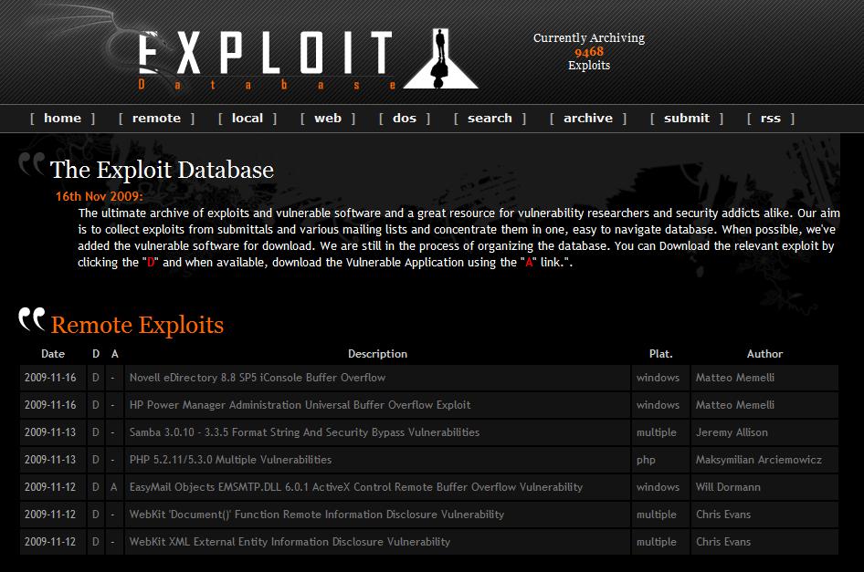ExploitDB
