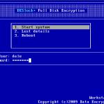 BootScreen Login