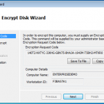 Encryption Disk Wizard 1