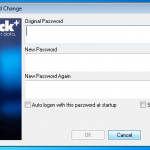 New Keyfile Password