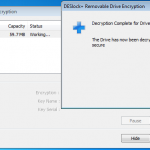 Removable Drive Decrypted