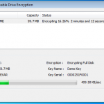 Removable Drive Encrypting